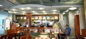 Fast food QSR restaurant in Kajaani.