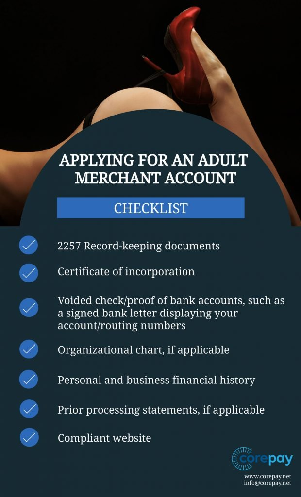 How to apply for an adult merchant account