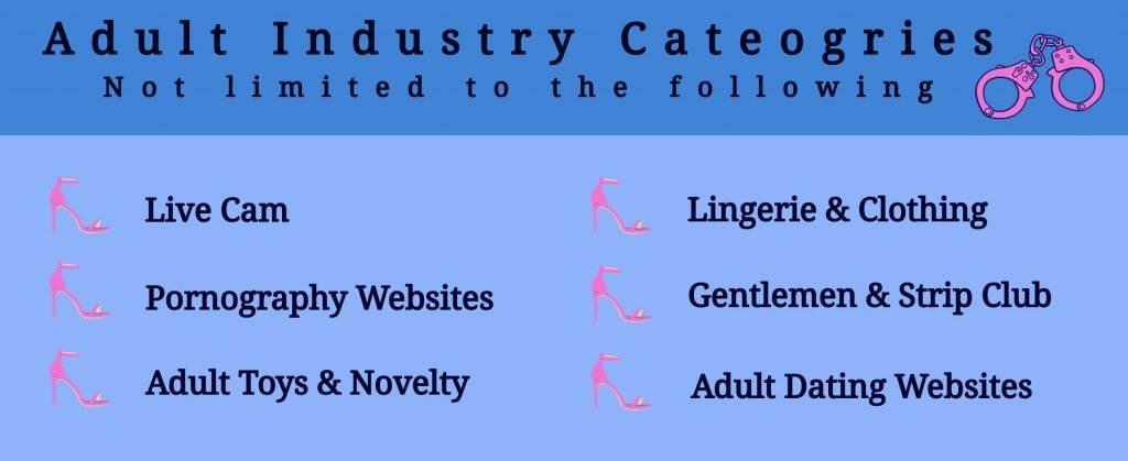 Adult Industry categories